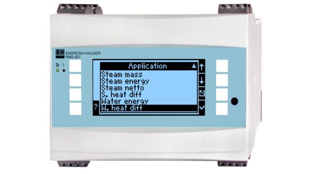 Správca energií RMS 621, počítadlo pary a tepla pre priemyslové výpočty spotreby pary a vody