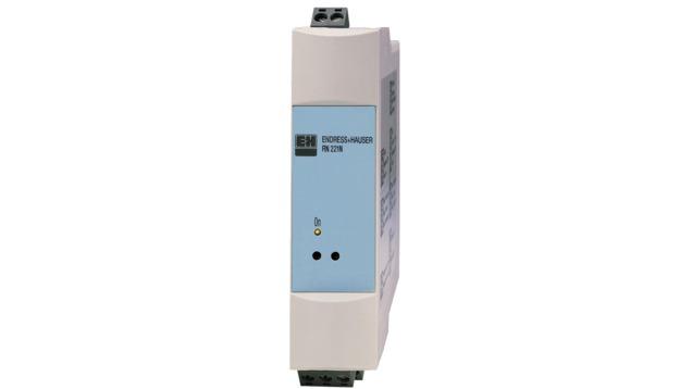Aktvna bariéra RN221N s napájaním pre bezpečné oddelenie prúdových obvodov 4 až 20 mA